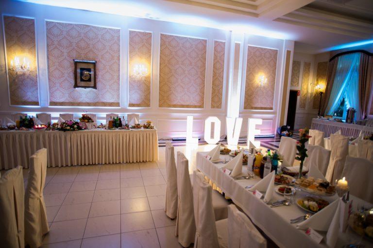 Zdjęcie sali weselnej Orchidea w środku.